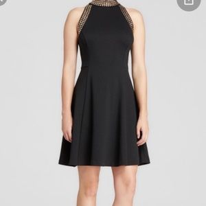 Michael Michael Kors Black Gold Dress 6